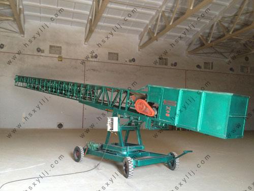 移动式转向装仓伸缩输送机